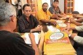Reunião com sindicalistas